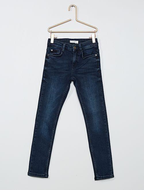 Vaquero skinny eco-concepción                                                         azul negro