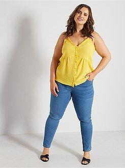 Tallas grandes mujer Vaquero skinny efecto push up
