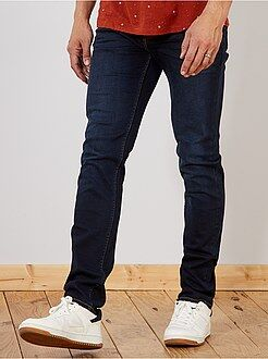 Hombre de mas de 1'90m - Vaquero slim de algodón elástico L38 +1,90 m - Kiabi