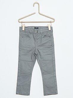Pantalones - Vaquero slim encerado