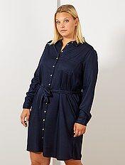 9d3f1385cea2 Vestidos de tallas grandes para mujer Tallas grandes mujer | Kiabi