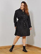 68fb9e50232f Vestidos de tallas grandes para mujer Tallas grandes mujer   Kiabi