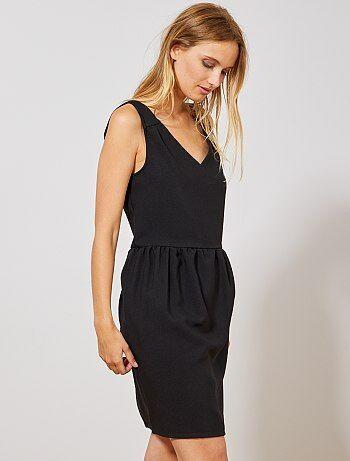 Kiabi vestido largo negro