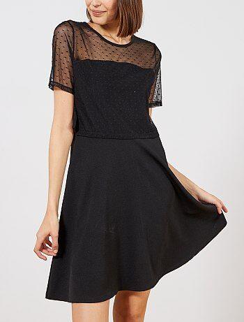 Vestido negro corto venta
