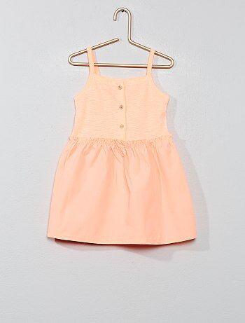 4286d4533bd Rebajas bebé niña vestidos y accesorios baratos - moda Bebé niña | Kiabi