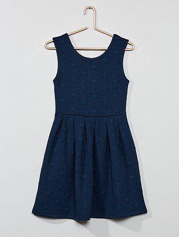 020014d75 Vestido de efecto jacquard - Kiabi