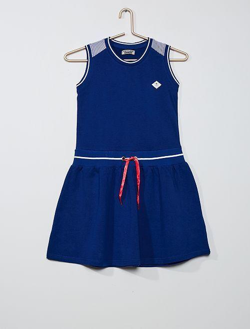 Vestido de felpa                             azul