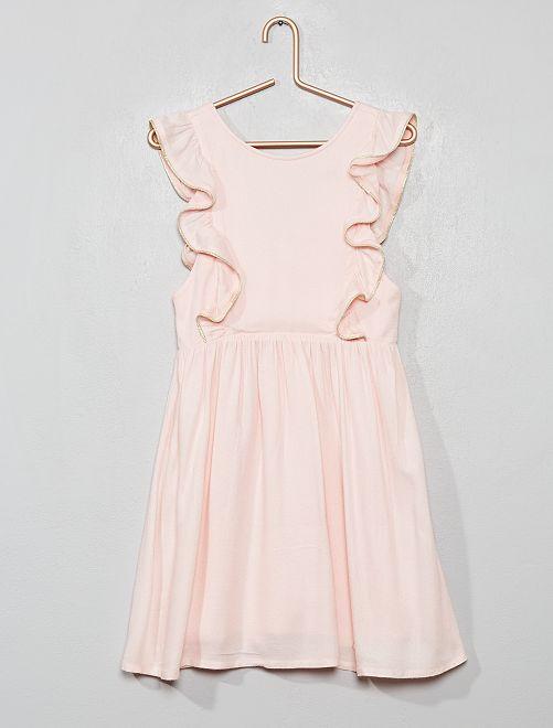 Vestido de fiesta                                                     rosa