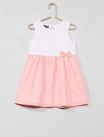 f7e7b4d6dda17 Niña 0-36 meses - Vestido de gasa de algodón - Kiabi