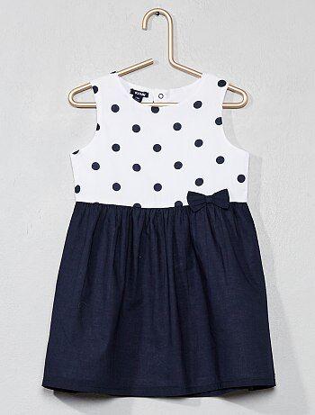 f693199d1 Rebajas vestidos bebé y faldas bebé al mejor precio en Bebé niña | Kiabi