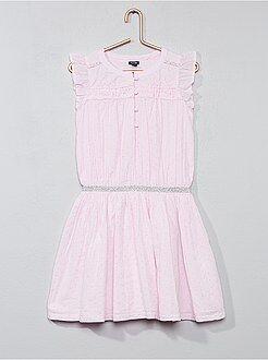 Vestidos, faldas - Vestido de lunares con volantes - Kiabi
