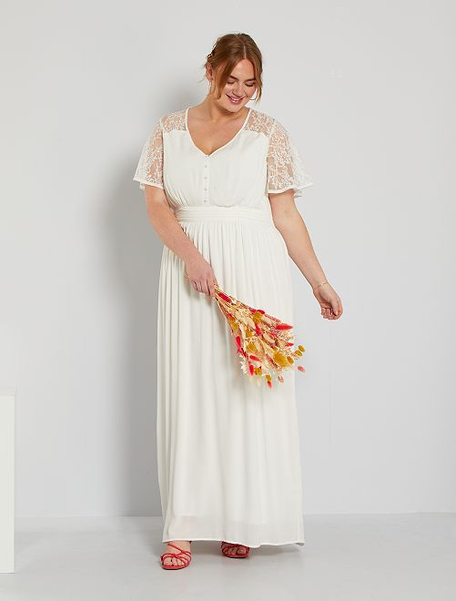 Vestido de novia                             blanco nieve