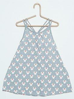 Vestidos, faldas - Vestido de playa con estampado 'Minnie'