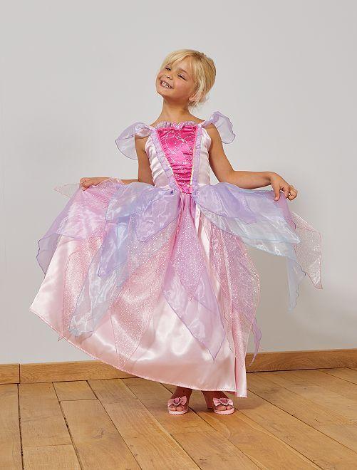 Vestido de princesa                             rosa/pùrpura