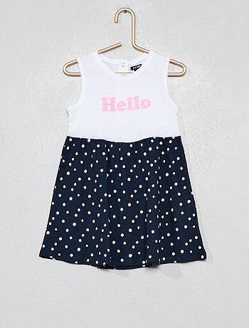 Vestidos bebé y faldas bebé al mejor precio en Bebé niña  01ee5fc0aae8