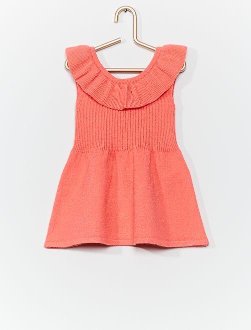 Vestido de punto 'eco-concepción'                                         ROSA
