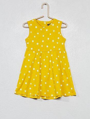 Niña 0-36 meses - Vestido de punto estampado  sol  - Kiabi 2fce14872191