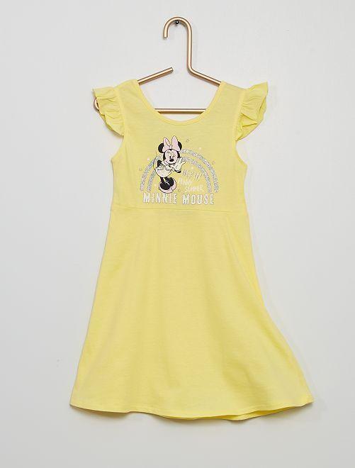 Vestido de punto 'Minnie Mouse' 'Disney'                             AMARILLO