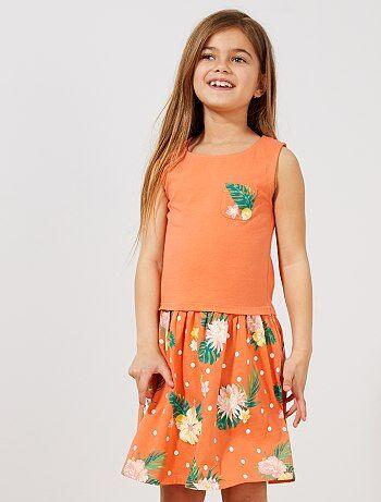 94dea2ec7 Eco concepción Vestidos y faldas Chica | Kiabi