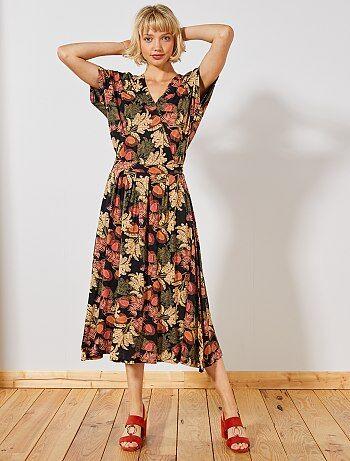f6c2164f77a Rebajas vestidos negros mujer baratos| vestidos de punto | moda ...