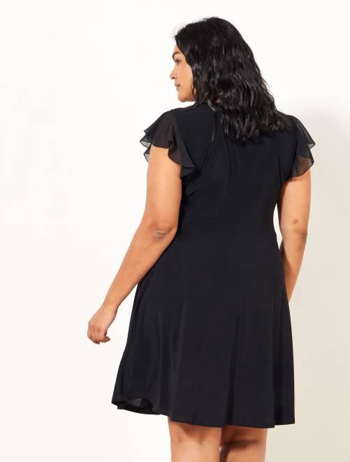 Vestido negro kiabi