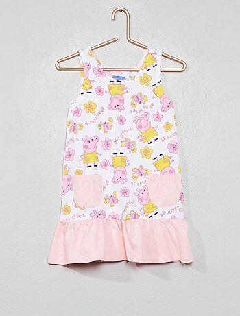 4370d4b85 Vestido  Peppa Pig  - Kiabi