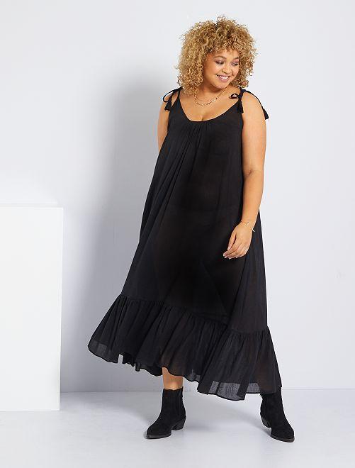 Vestido playero 'Vero Moda'                             negro