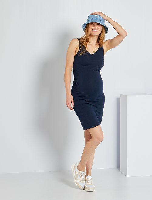Vestido premamá eco-concepción                                                     azul