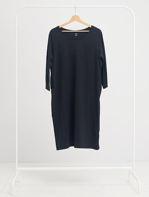Vestido premamá 'eco-concepción'                             negro