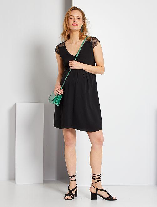 Vestido premamá                                         negro