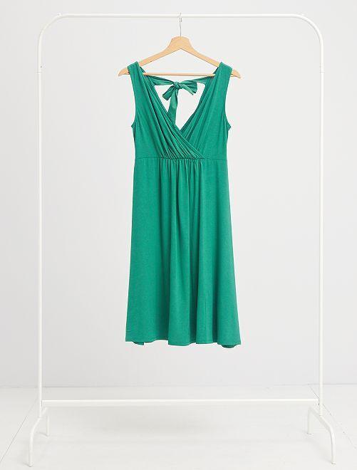 Vestido premamá                                                                             verde pino