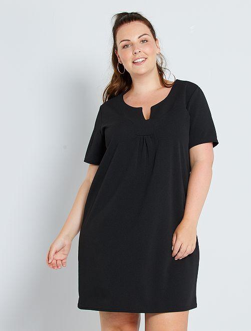 Vestido recto                             negro