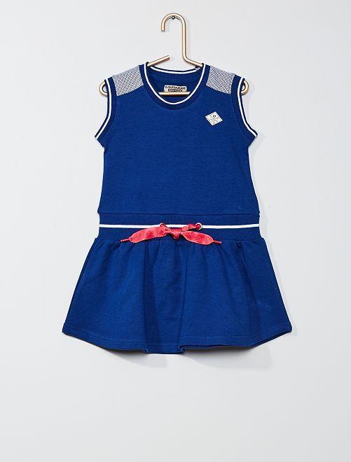 Vestido sin mangas                             azul