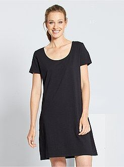 Mujer - Vestido tipo camiseta - Kiabi