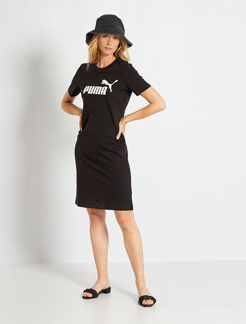 Vestido tipo camiseta 'Puma'                             BEIGE