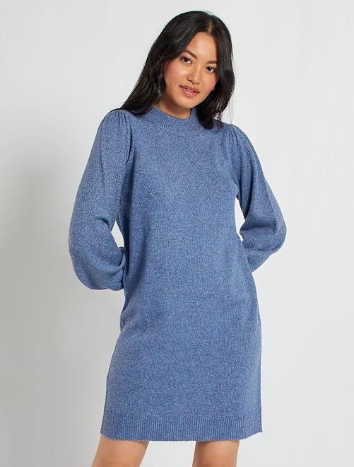 Vestido tipo jersey                                                                 azul