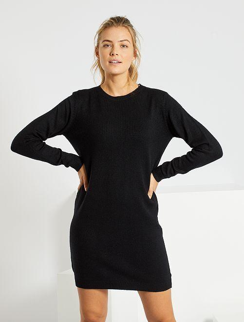 Vestido tipo jersey 'Jacqueline de Yong'                                                     negro