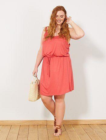 e17eb2a51 vestidos cortos en tallas grandes de mujer baratos - moda Tallas ...