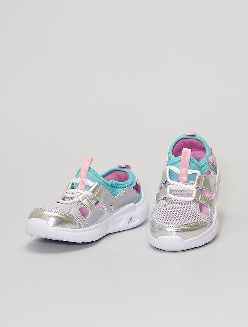 Zapatillas abiertas 'Frozen'                             GRIS