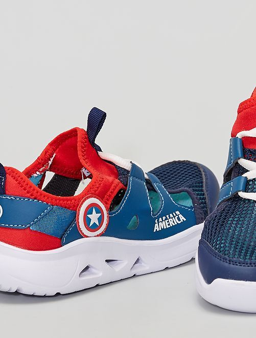 Zapatillas abiertas 'Los Vengadores'                             azul