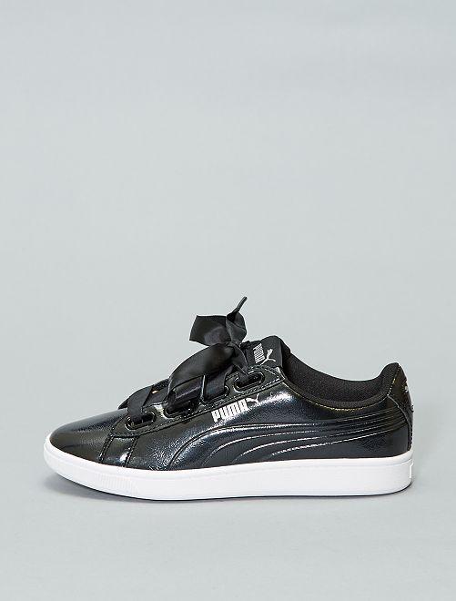 Zapatillas acharoladas 'Puma' 'Vikky'                                         NEGRO Zapatos