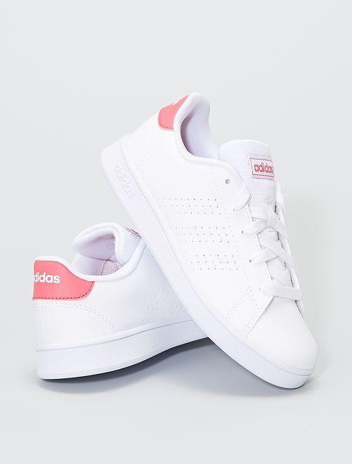 Zapatillas 'Adidas Advantage K'                             BLANCO