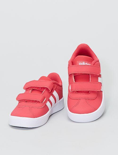 Zapatillas 'Adidas' con velcro                             ROSA