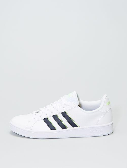 Zapatillas 'Adidas Grand Court base'                             BLANCO