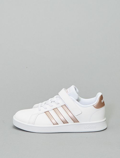 Zapatillas 'Adidas' 'Grand Court C'                             BLANCO