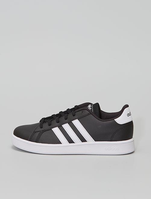 Zapatillas 'Adidas Grand Court K'                             NEGRO