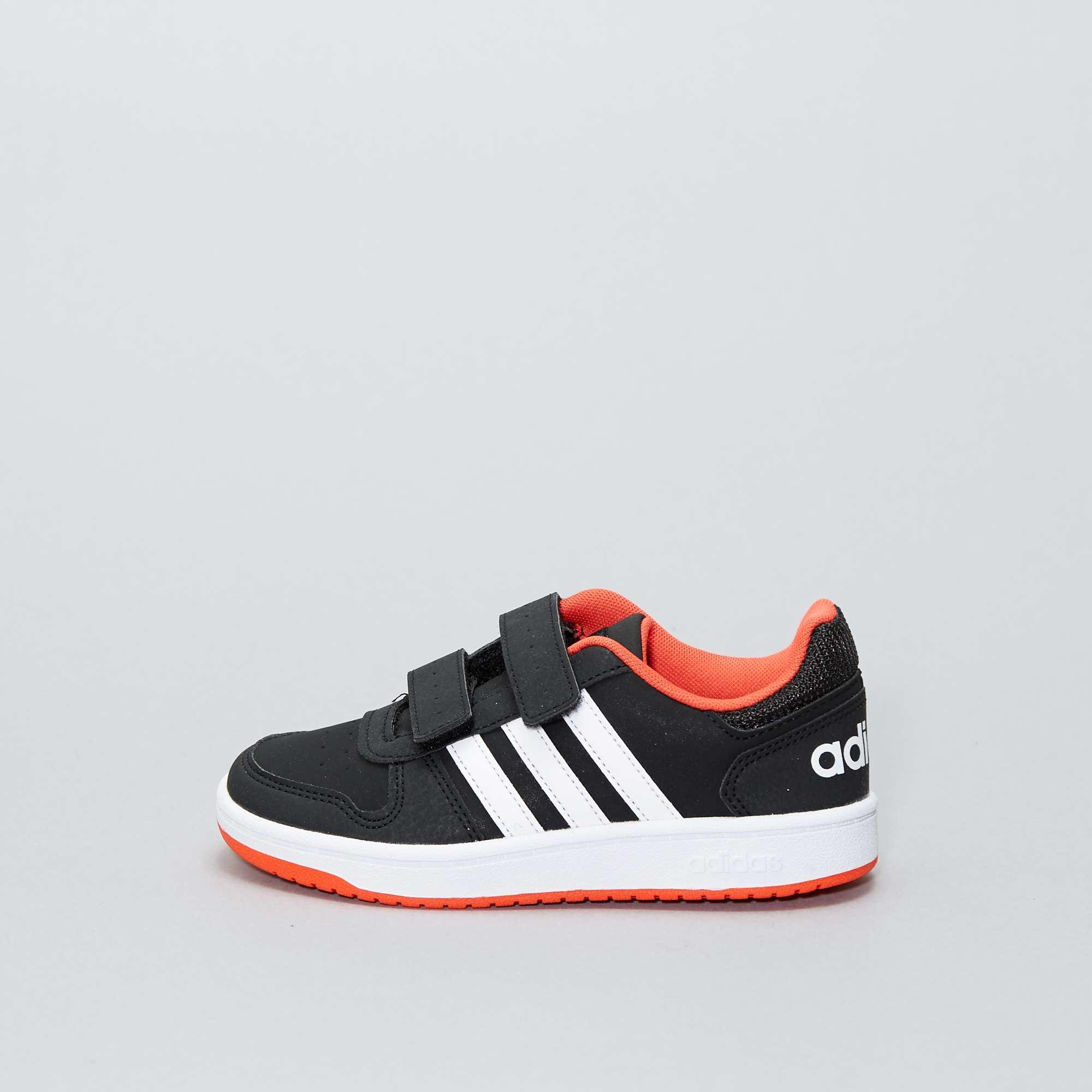 5d4a04fd85553 Zapatillas  Adidas Hoops CMF C  con velcro Chico - NEGRO - Kiabi ...