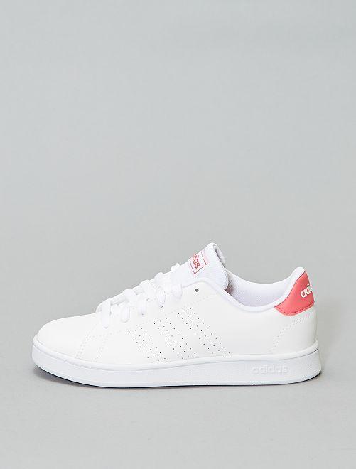 Zapatillas 'Advantage K' de 'Adidas'                             BLANCO
