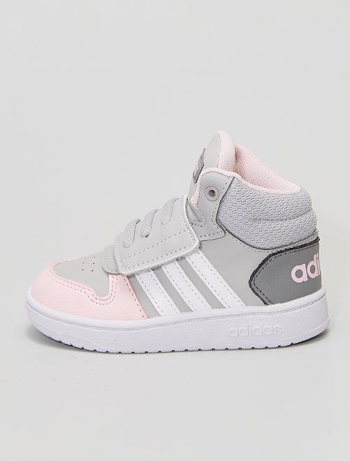 Zapatillas altas 'Adidas'                             GRIS