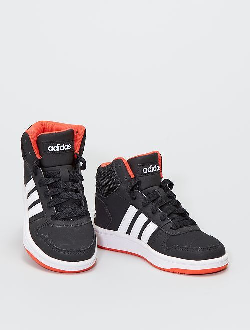 Zapatillas altas 'Adidas Hoops Mid'                             NEGRO